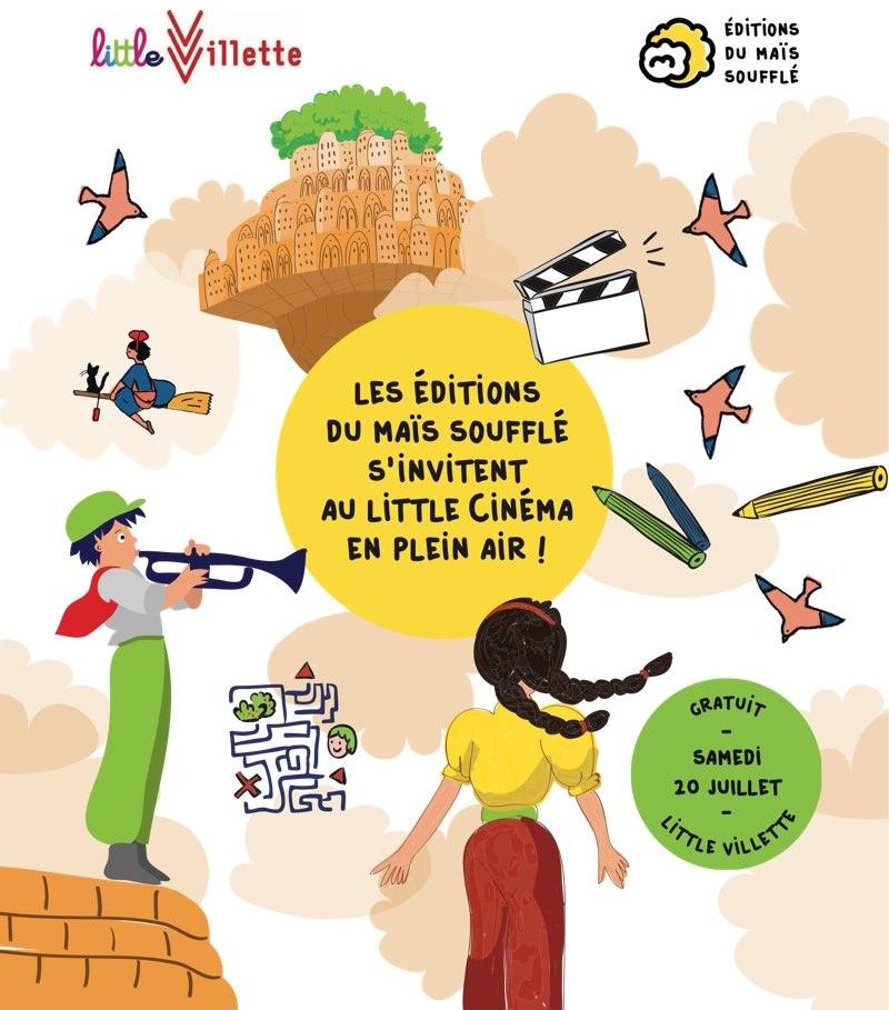 Little Cinéma en plein air le samedi 20 juillet à La Villette