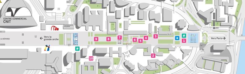 Les Extatiques, un parcours d'art contemporain en plein air à La Défense, jusqu'au 6 octobre 2019
