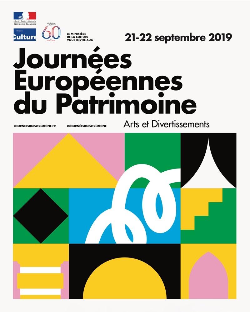 Les Journées du Patrimoine le 21 & 22 septembre 2019