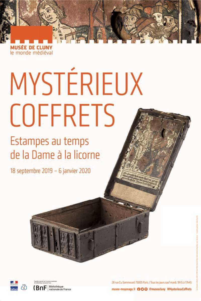 Exposition Mystérieux coffrets au Musée de Cluny jusqu'au 6 janvier 2020
