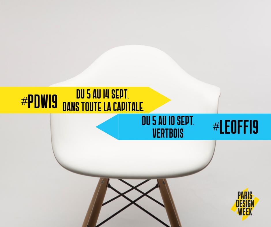 Paris Design Week, 5th-14th September 2019