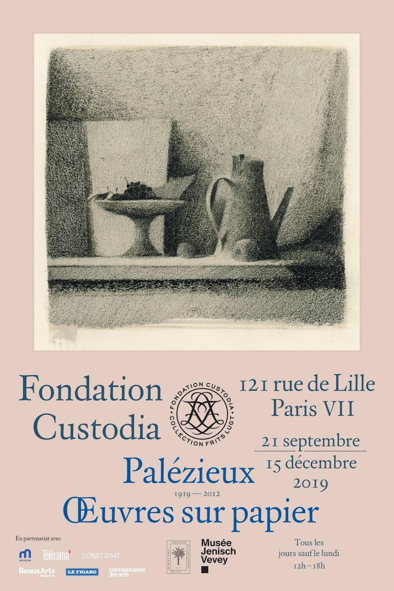 Expositions de Willem Bastiaan Tholen et Gérard de Palézieux à la Fondation Custodia du 21 septembre au 15 décembre 2019