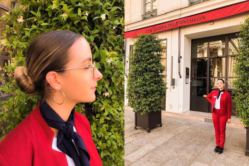 Meet our team - Pauline Wieroski of the Hotel des Dames du Panthéon