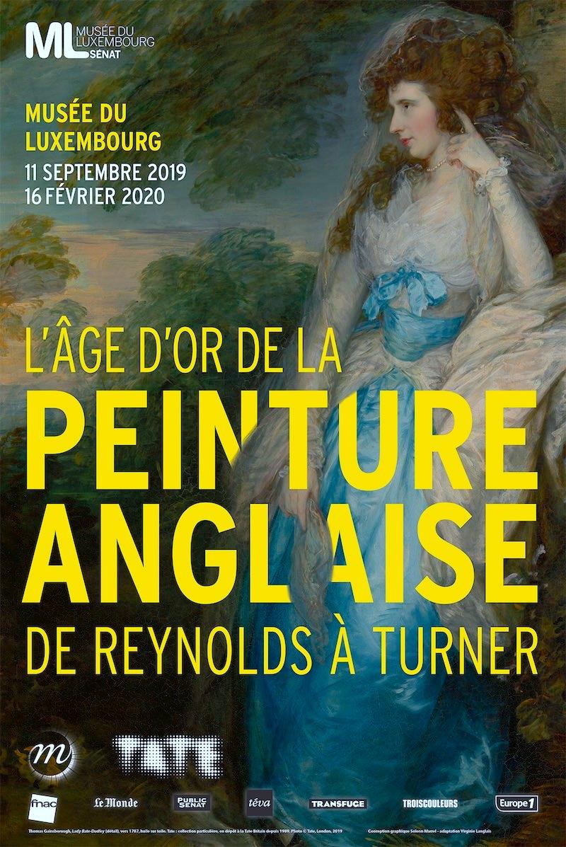 Exposition L'âge d'or de la peinture anglaise au Musée du Luxembourg du 11 septembre 2019 au 16 février 2020