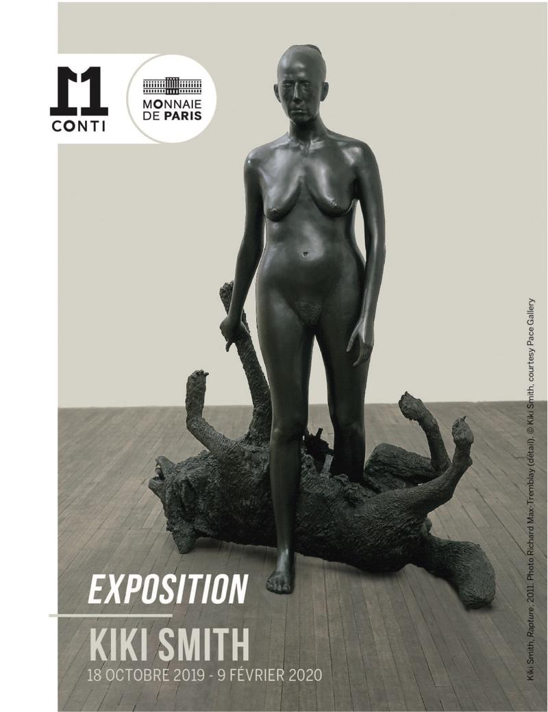 Exposition Kiki Smith à la Monnaie de Paris jusq'au 9 février 2020