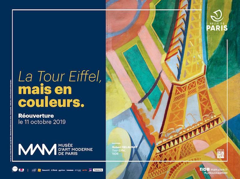 Réouverture du Musée d'Art Moderne de Paris