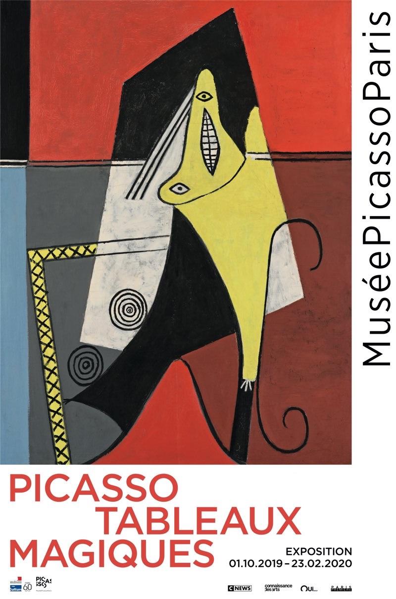 Exposition Picasso. Tableaux magiques au Musée Picasso jusqu'au 23 février 2020
