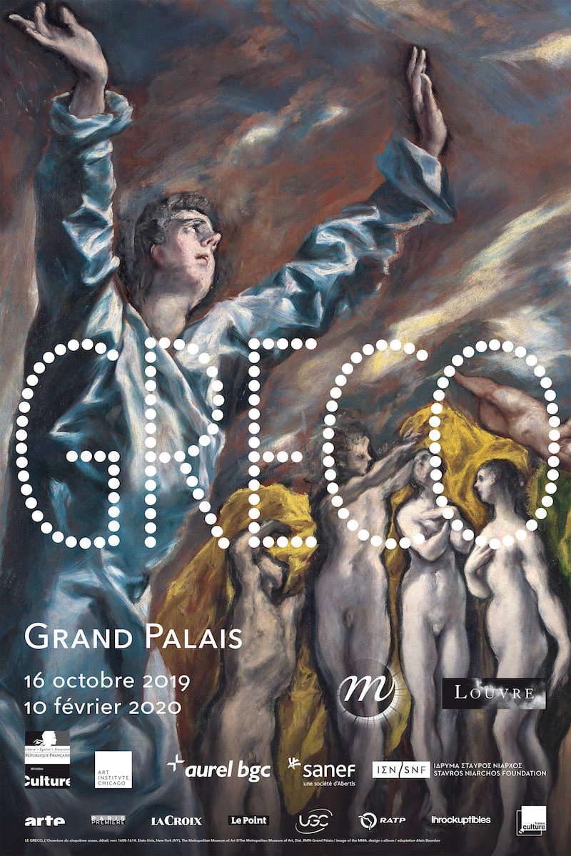 Rétrospective Greco au Grand Palais du 16 octobre 2019 au 10 février 2020