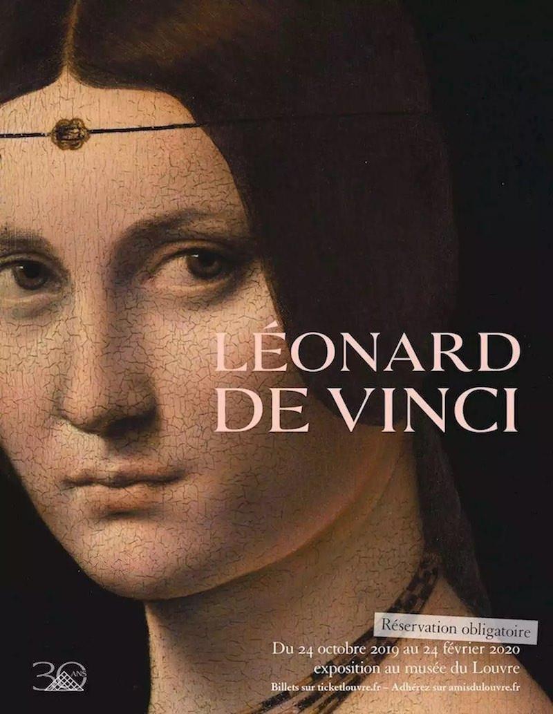 Exposition Léonard de Vinci au Louvre jusqu'au 24 février 2020