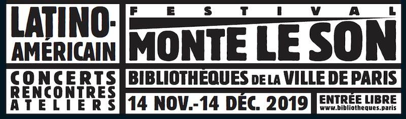 Festival Monte le son dans les bibliothèques de Paris, du 14 novembre au 14 décembre 2019