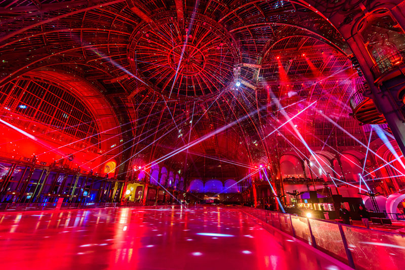Le Grand Palais des Glaces - a giant ice rink at the Grand Palais, 13th December 2019 - 8th January 2020