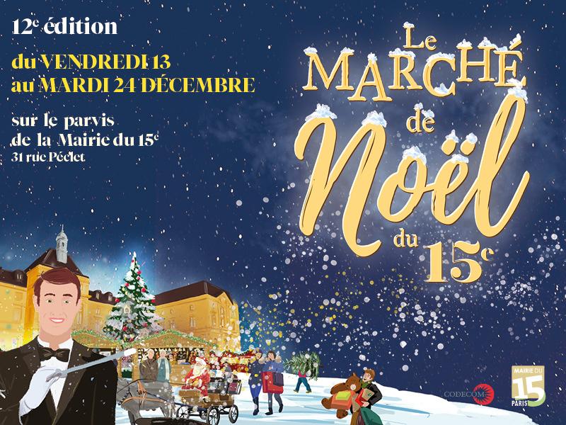 Les Marchés de Noël 2019 à Paris