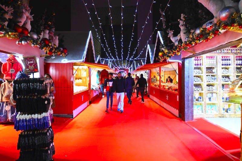 Le Village de Noël de La Défense jusqu'au 28 décembre 2019
