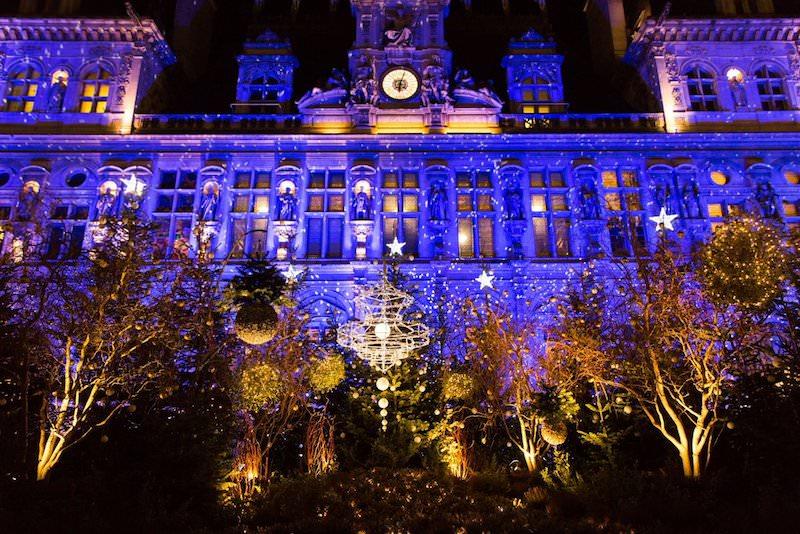 Animations de Noël 2019 sur le parvis de l'Hôtel de Ville jusqu'au 1er janvier