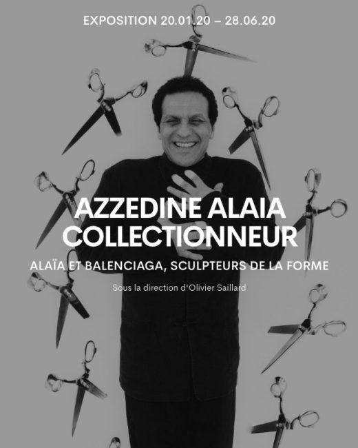 Exposition Azzedine Alaïa, collectionneur à la Galerie Azzedine Alaïa du 20 janvier au 28 juin 2020