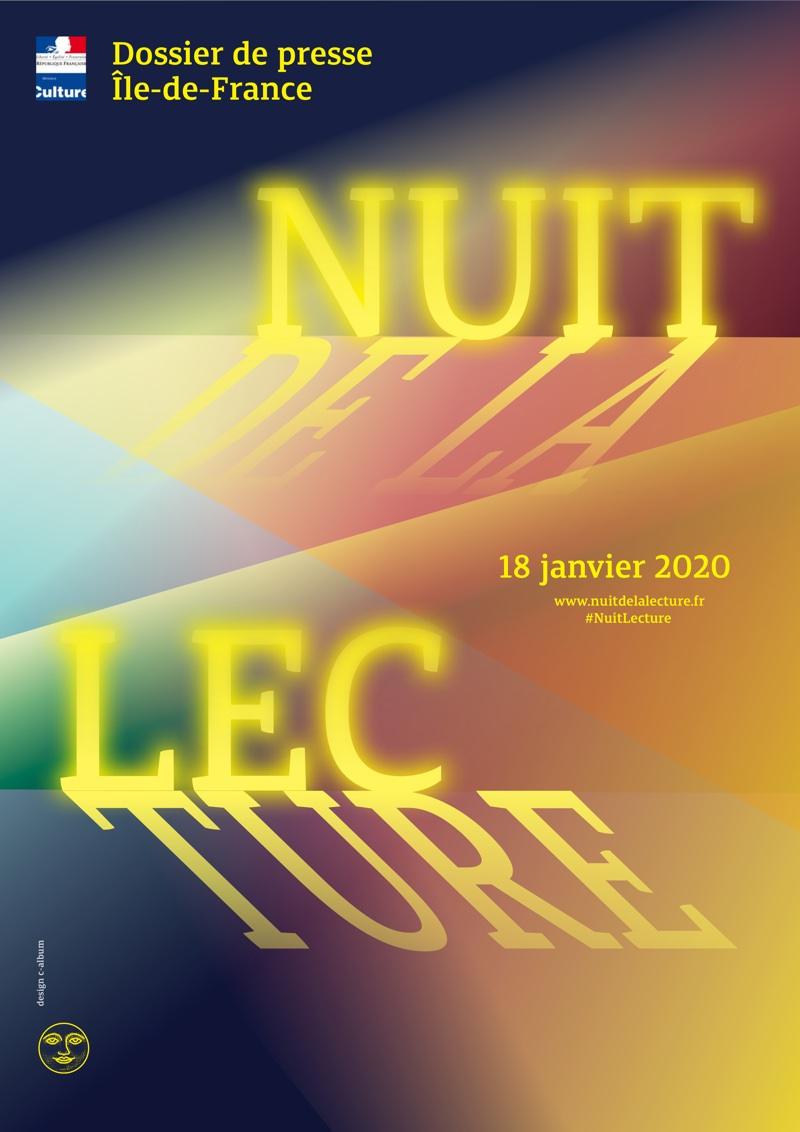 La Nuit de la Lecture le 18 janvier 2020