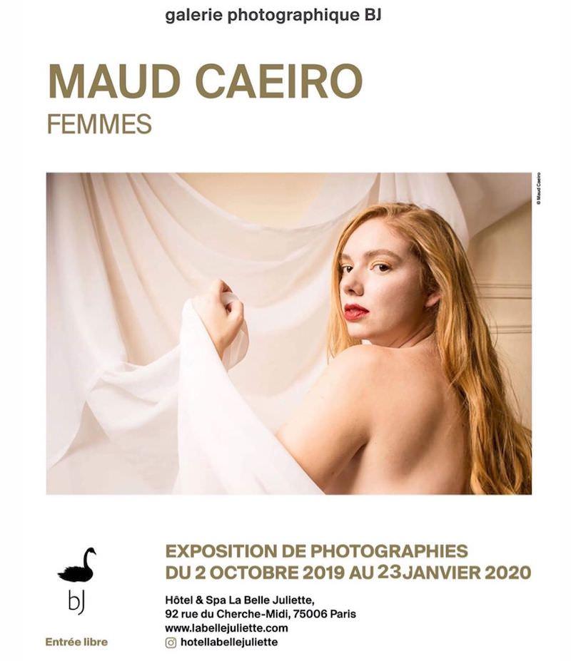 Maud Caeiro - Femmes exhibition at La Belle Juliette until 3rd February 2020