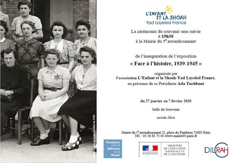 Exposition Face à l'histoire, 1939-1945
