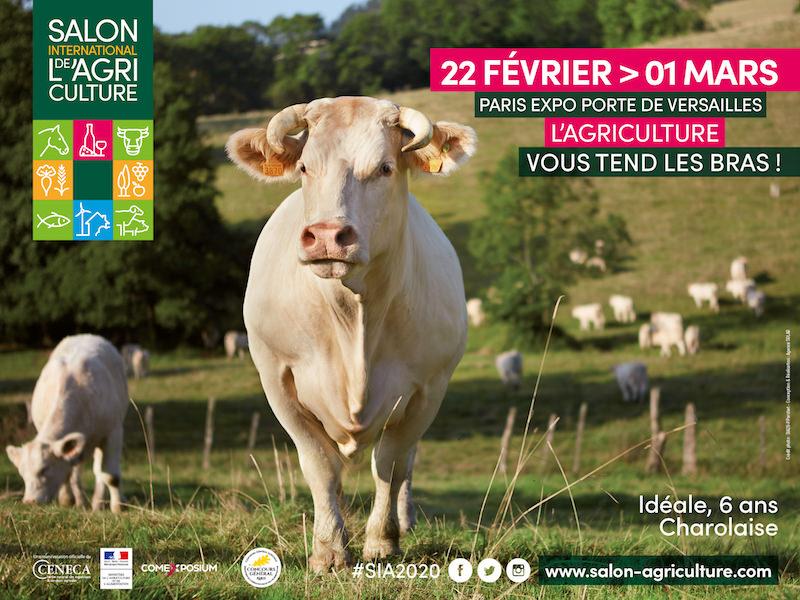 Le Salon de l'Agriculture à la Porte de Versailles du 22 février au 1 mars 2020