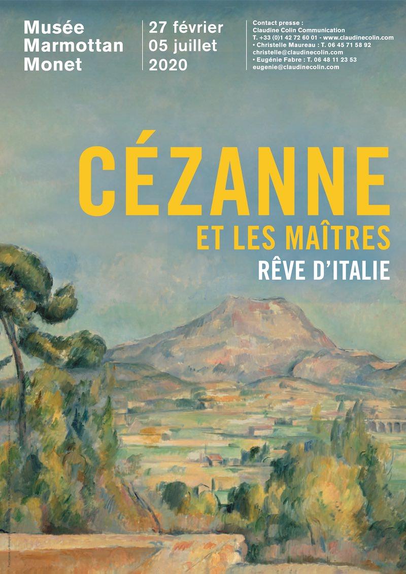 Exposition Cézanne et les maîtres. Rêve d'Italie au Musée Marmottan du 27 février au 5 juillet 2020