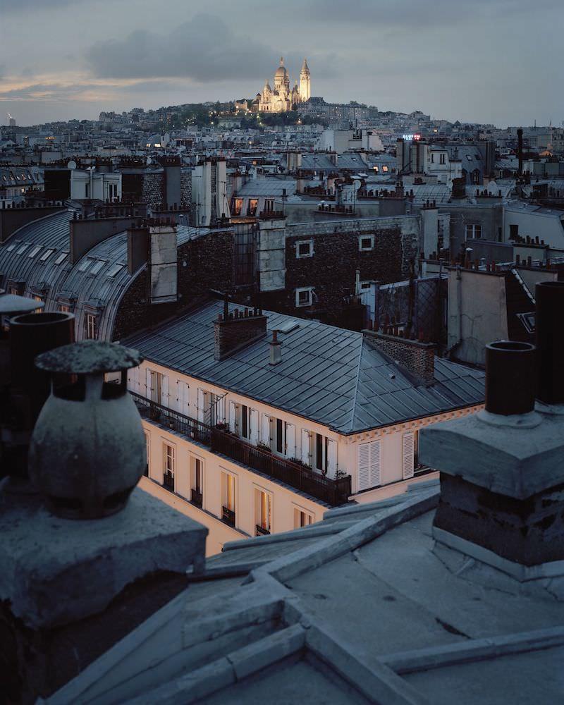 Exposition Sur Paris d'Alain Cornu à la Belle Juliette du 6 février au 23 avril 2020