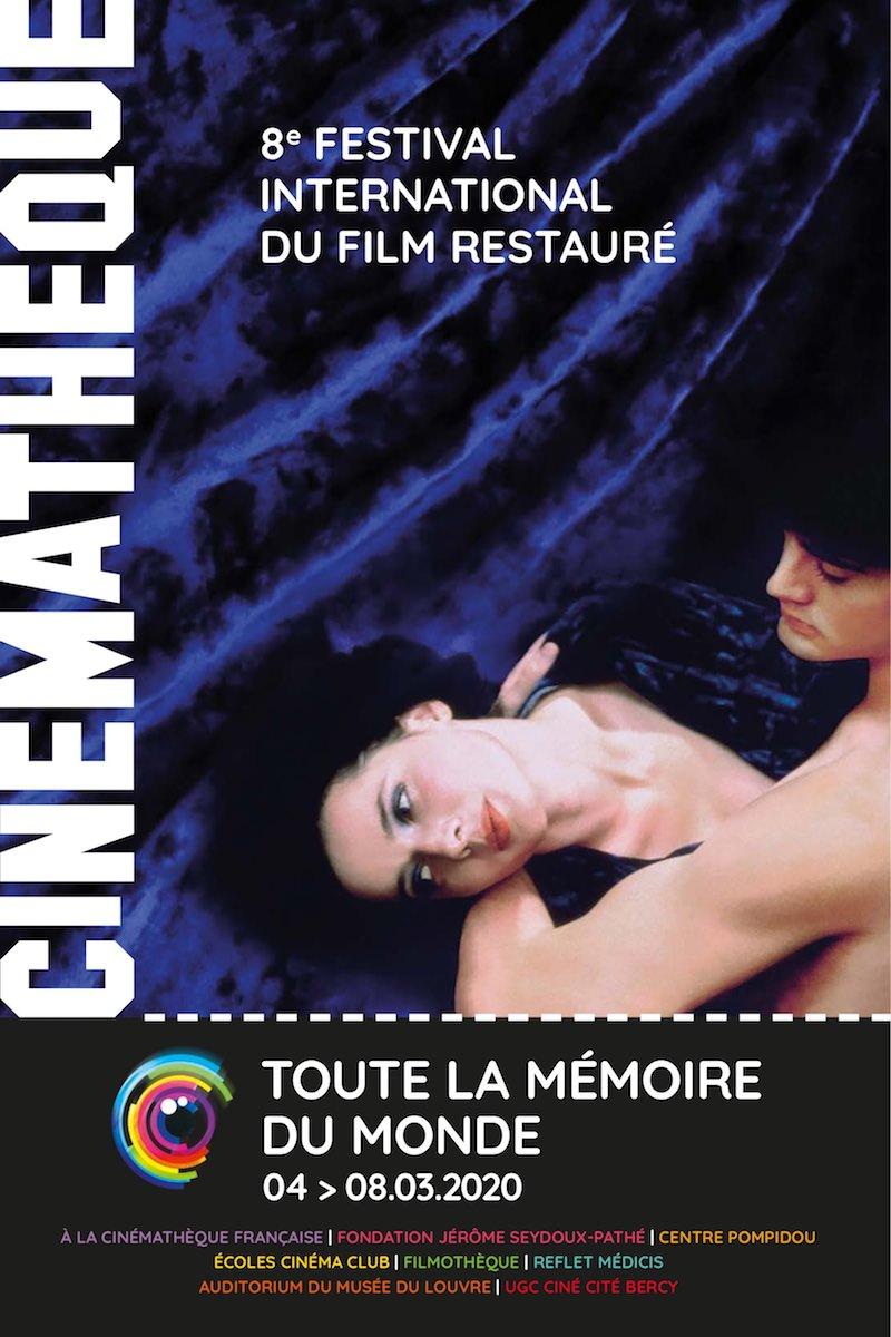 Toute la mémoire du monde - le Festival international du film restauré à la Cinémathèque du 4 au 8 mars 2020