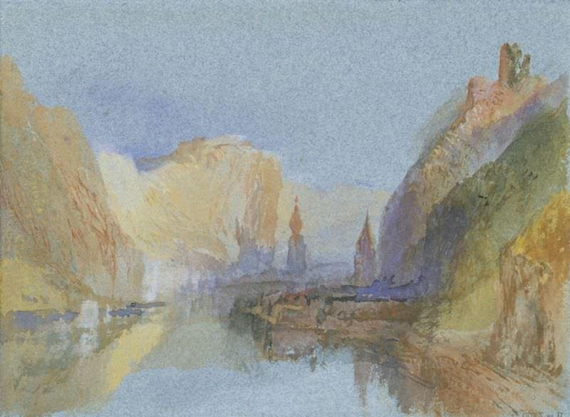 Exposition Turner, peintures et aquarelles au Musée Jacquemart-André du 13 mars au 20 juillet 2020