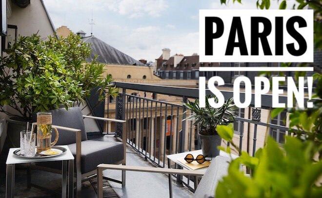 The Hôtels Paris Rive Gauche reopen 3rd September 2020!
