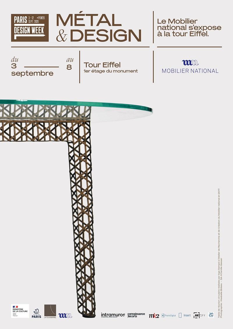 Exposition Métal & Design à la Tour Eiffel