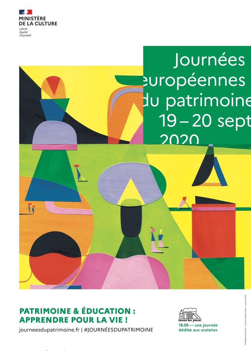 Les Journées du Patrimoine le 19 & 20 septembre 2020