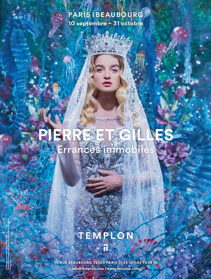 Pierre et Gilles Motionless Wanderings exhibition at the Daniel Templon gallery, 10th September - 31st October 2020