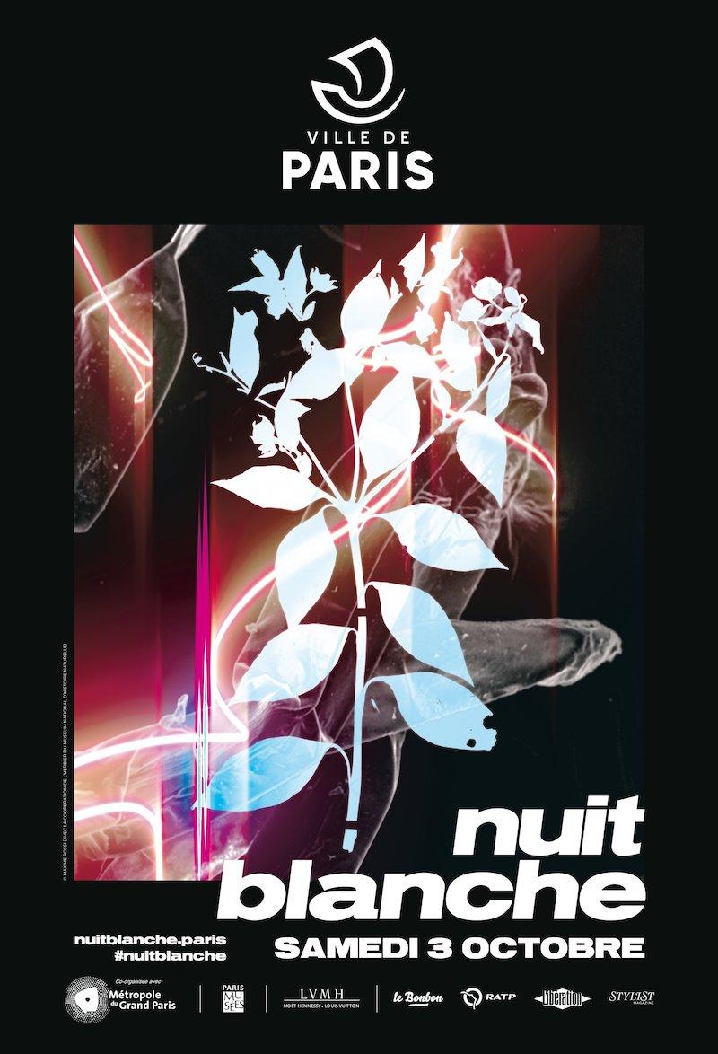 La Nuit Blanche 2020 à Paris, samedi 3 octobre 2020