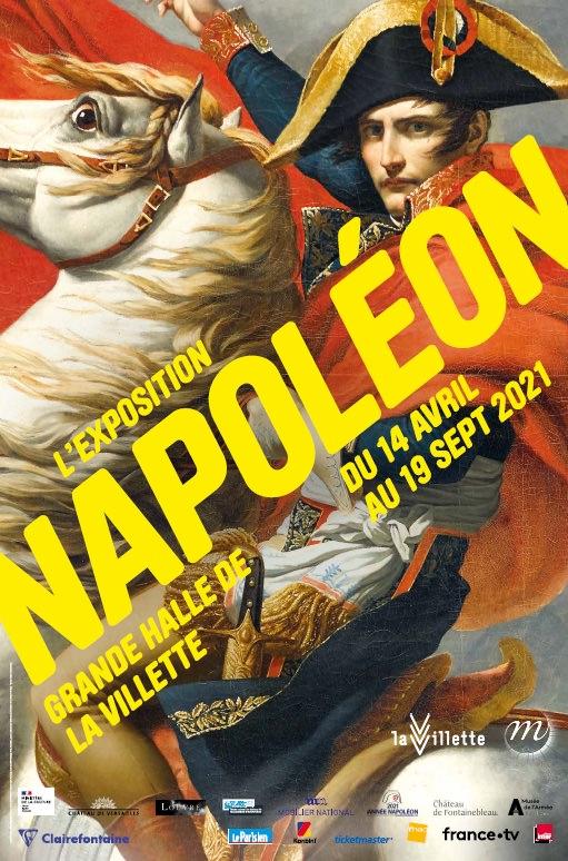 Exposition Napoléon à la Grande Halle de La Villette du 14 avril au 19 septembre 2021