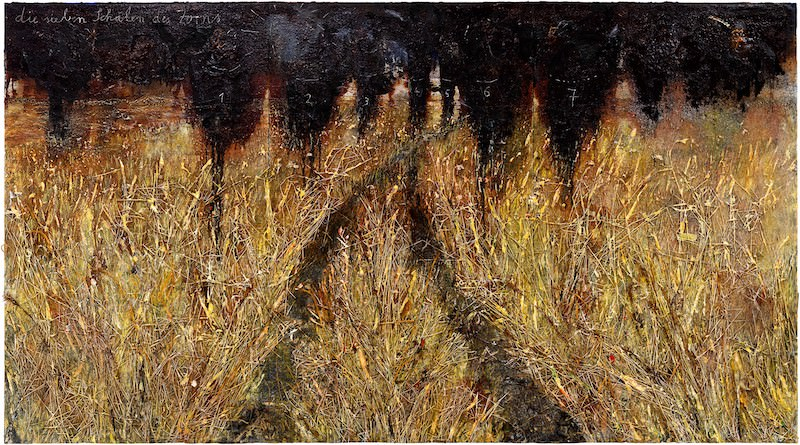 Anselm Kiefer exhibition at the Gagosian Gallery until 28th March 2021