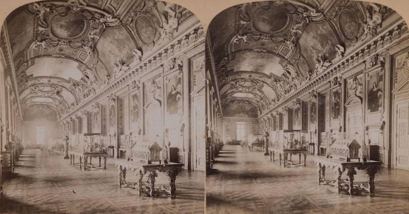See 19th century Paris in 3D