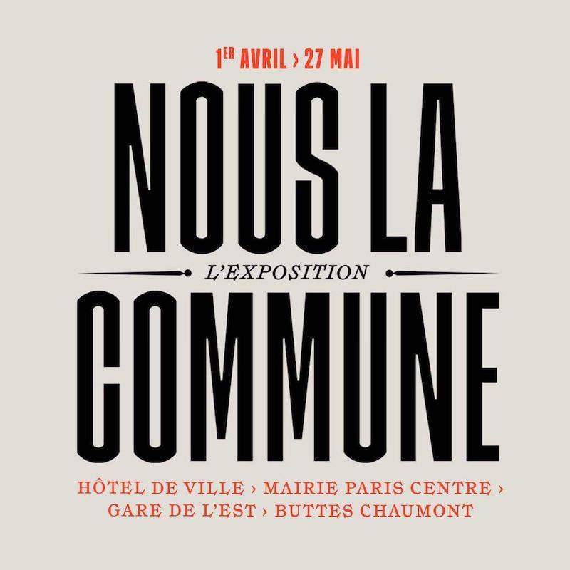 Exposition Nous la Commune à Hôtel de Ville du 2 au 18 avril 2021