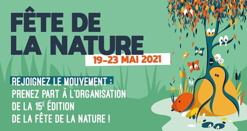 La Fête de la Nature 2021 du 19 au 23 mai