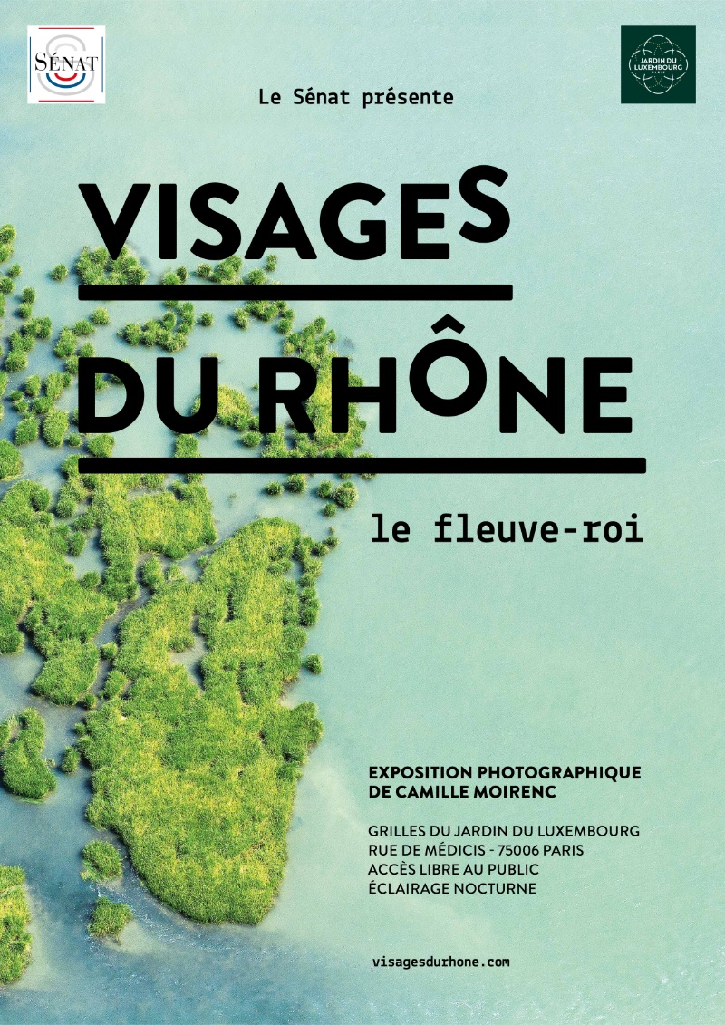 Facets of the Rhône exhibition at the Jardin du Luxembourg until 14th July 2021