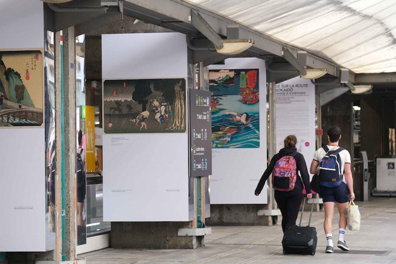 Une exposition du Musée Cernuschi à la Gare Montparnasse !