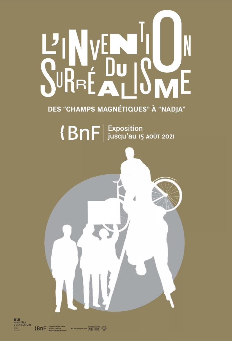 Exposition L'Invention du surréalisme : des Champs magnétiques à Nadja à la BNF Paris
