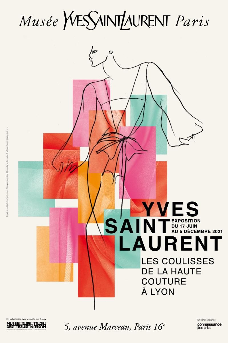 Exposition Les coulisses de la haute couture à Lyon au Musée Yves Saint Laurent du 17 juin au 5 décembre 2021