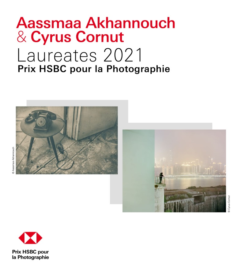 Exhibition of the winners of the HSBC Prize, Cyrus Cornut and Aassmaa Akhannouch, at the Galerie Esther Woerdehoff until 26th June 2021