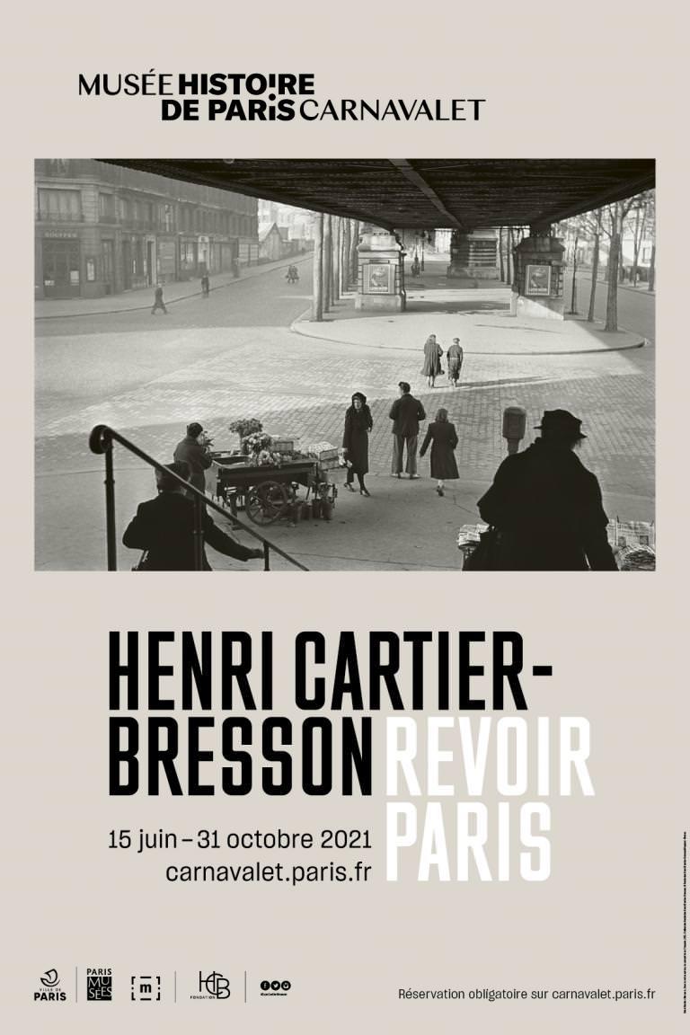 Exposition Henri Cartier-Bresson - Revoir Paris au Musée Carnavalet du 15 juin au 31 octobre 2021