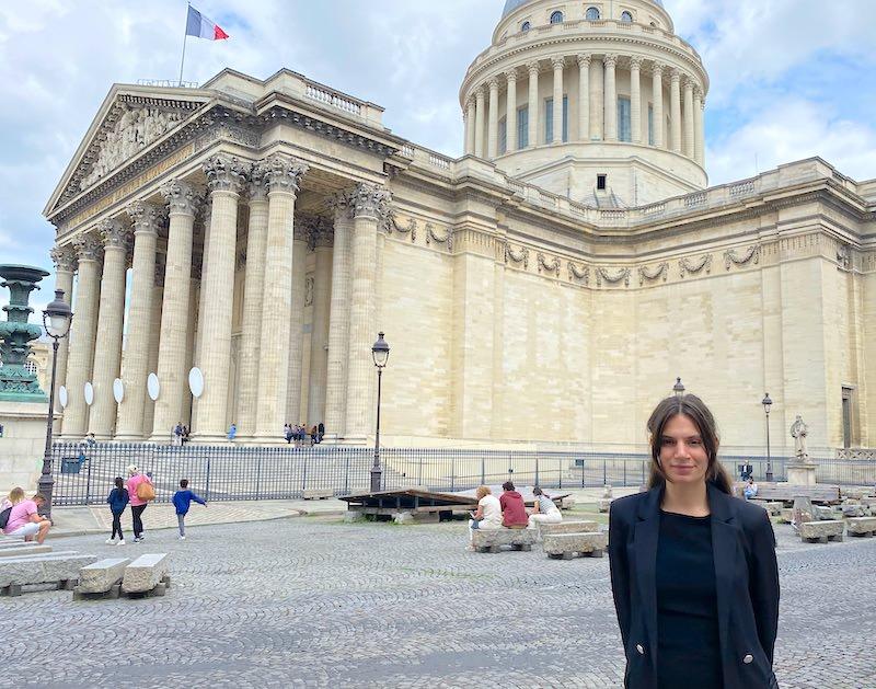 À la rencontre de nos équipes - Anaïs Gaspar de l'Hôtel les Dames du Panthéon