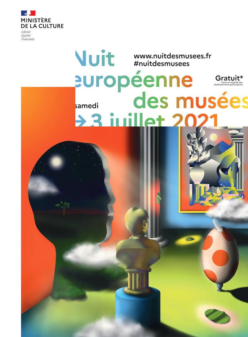 Museum Night 2021 in Paris, Saturday 3rd July