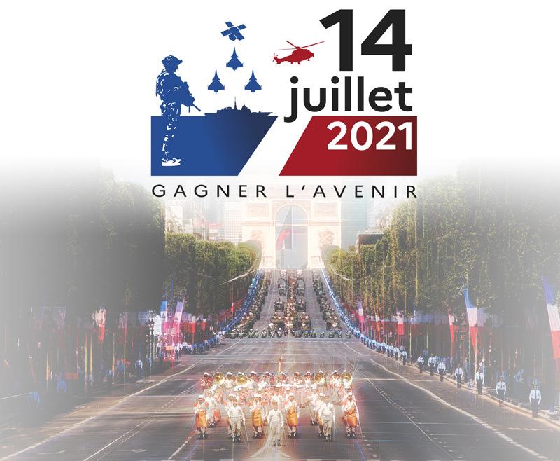 Le 14 juillet 2021 à Paris