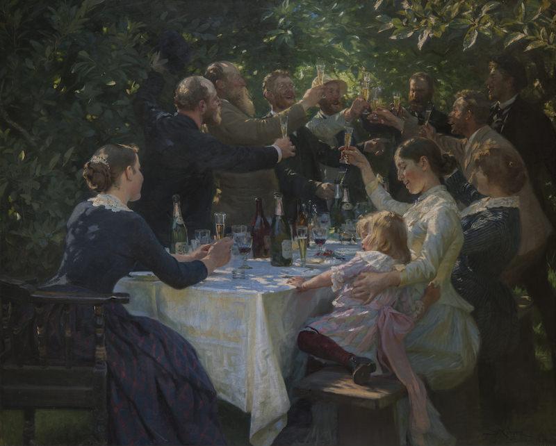 Exposition L'heure bleue de Peder Severin Krøyer au Musée Marmottan jusqu'au 26 septembre 2021
