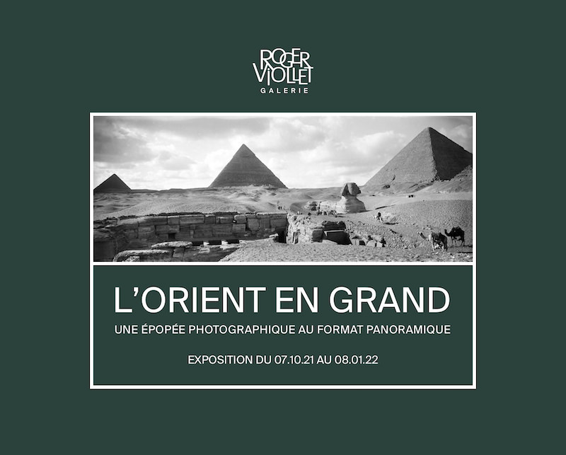 Widescreen Orient - A panoramic era in photography, an exhibition at the Roger-Viollet agency until 8th January 2022